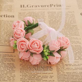 La doble corona de pelo accesorios de fotografía de corona de novia - Página 9
