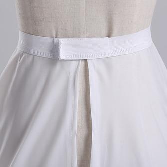 Volante elástico en la cintura total vestido poliéster tafetán boda enagua - Página 3