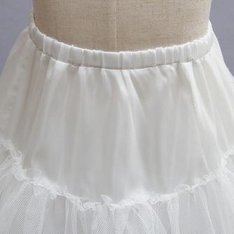 Niños blanco vestido muy fuerte red glamorosa boda frameless enagua - Página 3
