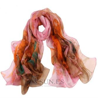 La nueva bufanda de seda de señora caliente medio alto grado - Página 8