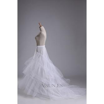 Enagua de la boda hilado doble de moda red fuerte de la sirena diámetro - Página 2