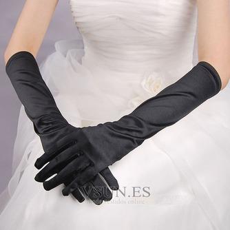 Guante de la boda Satén Elástico Otoño Formal - Página 2