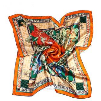 Comodín de moda nacional bufanda cuadrada pañuelo de seda restauración de antiguas formas - Página 2