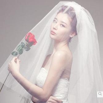 Velo de novia primavera Escalonado Glamouroso - Página 4