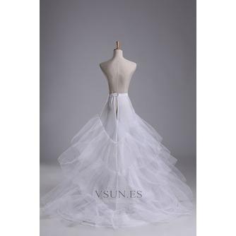 Enagua de la boda hilado doble de moda red fuerte de la sirena diámetro - Página 3