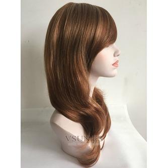 Inclinada y ordenado largo 40-45 CM esponjosa peluca rizada - Página 3