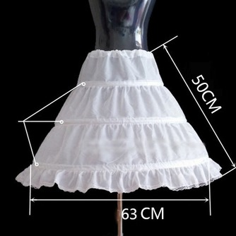 Tres niños de rueda fácil cintura elástico vestido enagua de la boda - Página 2