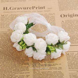 La doble corona de pelo accesorios de fotografía de corona de novia - Página 1