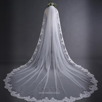 3M velo de encaje simple cola larga velo de boda velo velo - Página 1