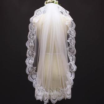 Velo corto nupcial velo blanco velo de novia - Página 1