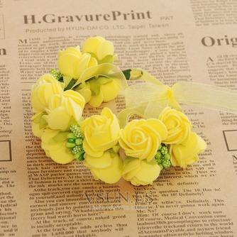 La doble corona de pelo accesorios de fotografía de corona de novia - Página 4