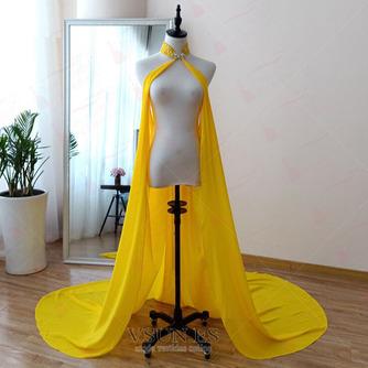 Abrigo de novia de capa de gasa negra con capa de capa - Página 4
