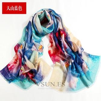 Collar de la bufanda de lana otoño e invierno para mantener a caliente joker mantón de la bufanda larga de manera - Página 3