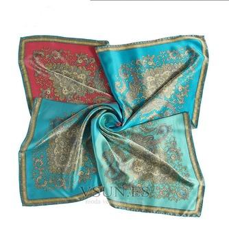 Comodín de moda nacional bufanda cuadrada pañuelo de seda restauración de antiguas formas - Página 5