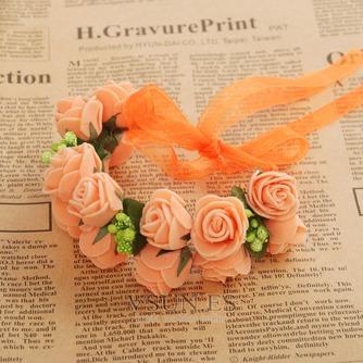 La doble corona de pelo accesorios de fotografía de corona de novia - Página 5