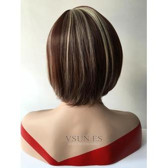 Corto recto de alta temperatura el material conveniente para las mujeres peluca - Página 3
