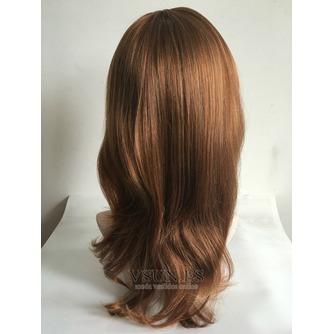 Inclinada y ordenado largo 40-45 CM esponjosa peluca rizada - Página 2