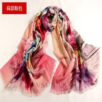 Collar de la bufanda de lana otoño e invierno para mantener a caliente joker mantón de la bufanda larga de manera - Página 1