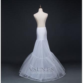 Boda vestido sirena corsé perímetro glamoroso spandex enaguas de boda - Página 3
