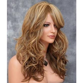 Largo rizado conveniente para las mujeres tiempo de peluca rizada - Página 2