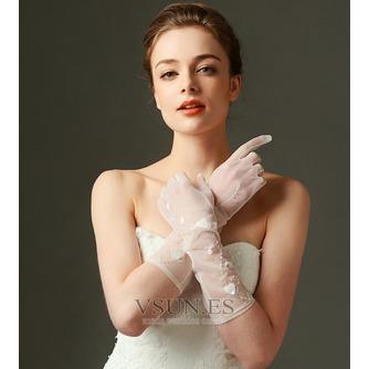 Guante de la boda Con lentejuelas sexy Otoño - Página 3