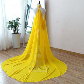 Abrigo de novia de capa de gasa negra con capa de capa - Página 3