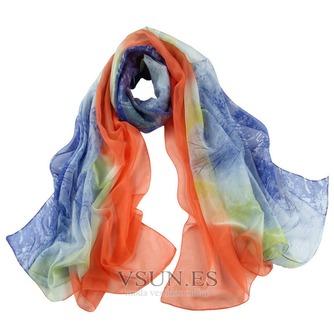 La nueva bufanda de seda de señora caliente medio alto grado - Página 1