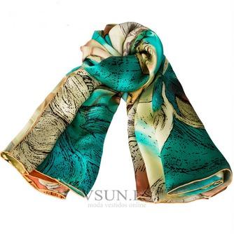Comodín de moda bufanda de seda bufanda restaurar antiguos caminos - Página 1