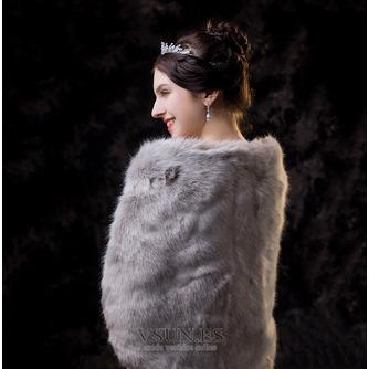 Boda de invierno Chal cálido Chal de novia - Página 2