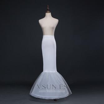 Nuevo estilo cintura elástico del spandex Vestido de boda boda enagua - Página 2