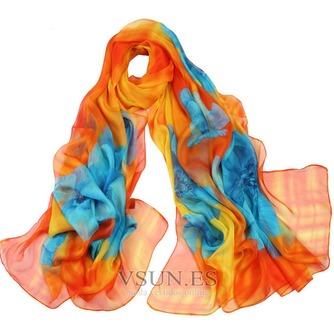 El nueva sombra protector solar impresión largo mantón de la bufanda - Página 4
