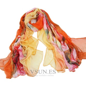 Impresos bufandas gasa cortina chal protector solar - Página 8