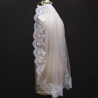 Velo corto nupcial velo blanco velo de novia - Página 3