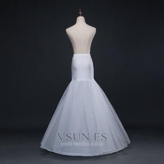 Marfil del corsé spandex nuevo estilo sirena enagua de la boda - Página 2