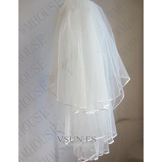 Velo de novia velo de novia esponjoso de 3 capas velo de novia velo corto - Página 2