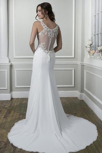 Vestido de novia Playa Pura espalda Escote Corazón Gasa Verano Corte Recto - Página 2