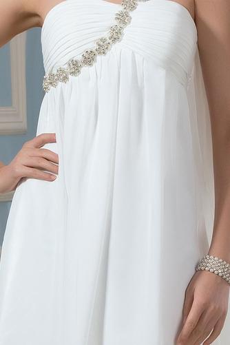 Vestido de novia Sin mangas Verano Espalda Descubierta Imperio Cintura - Página 4