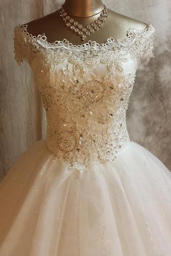 Vestido de novia Invierno Iglesia Clasicos Natural Encaje Abalorio - Página 3