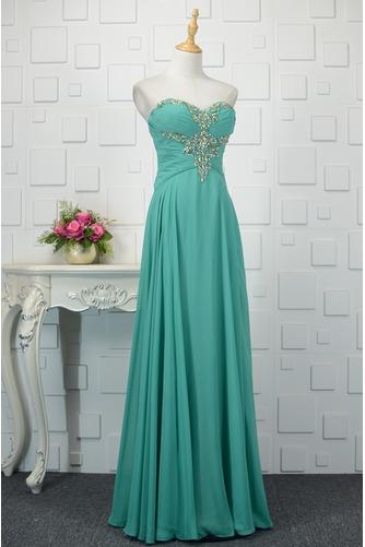 Vestido de noche Natural Corte-A Espalda Descubierta Otoño Romántico - Página 2