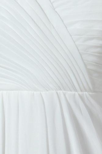 Vestido de novia Sin mangas Hasta el suelo Tallas grandes Drapeado Blusa plisada - Página 6