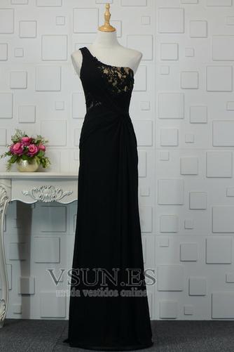 Vestido de noche Elegante Encaje Corte-A Capa de encaje Natural Falta - Página 1