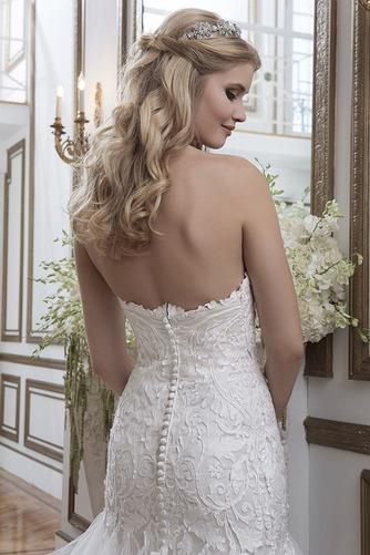 Vestido de novia Espectaculares largo Natural Fuera de casa Apliques - Página 4