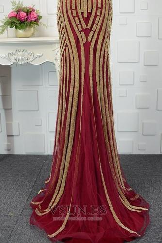 Vestido de noche Colores Escote de Tirantes Espaguetis Espalda medio descubierto - Página 9