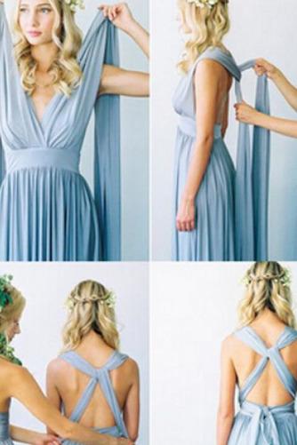 Vestido de dama de honor Blusa plisada Verano Sencillo Espalda Descubierta Triángulo Invertido - Página 5