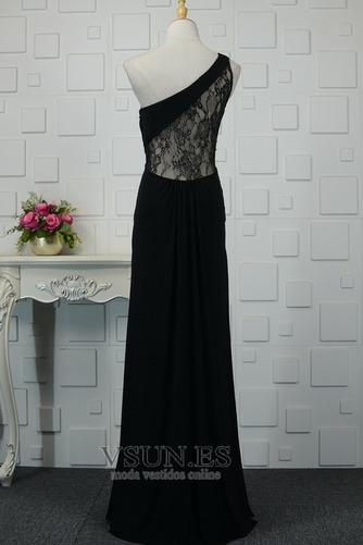 Vestido de noche Elegante Encaje Corte-A Capa de encaje Natural Falta - Página 3