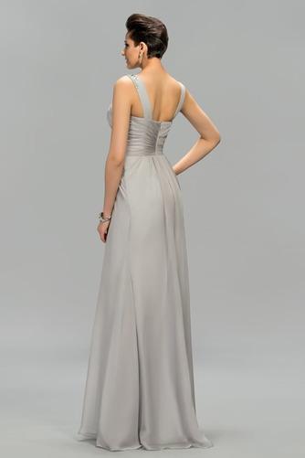 Vestido de noche Elegante Escote Asimètrico Natural Dobladillos Corte-A - Página 2