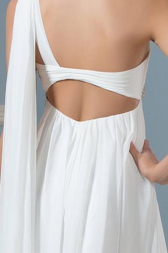Vestido de novia Sin mangas Verano Espalda Descubierta Imperio Cintura - Página 5