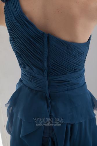 Vestido de fiesta Corto Falta Corte Recto Sencillo Espalda medio descubierto - Página 6