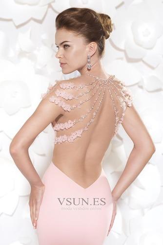 Vestido de noche Sin cintura Moderno Falta Espalda medio descubierto - Página 3