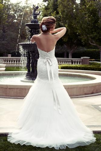 Vestido de novia Corte Sirena Apliques Escote Corazón Natural largo - Página 2